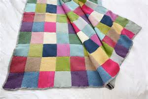 decke patchwork patchwork blanket 183 extract from winter knits made easy by