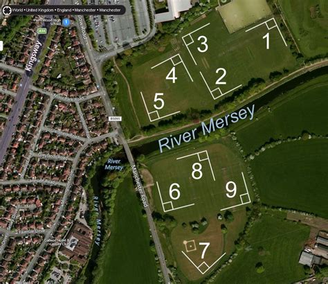 venues  pitch maps manchester softball
