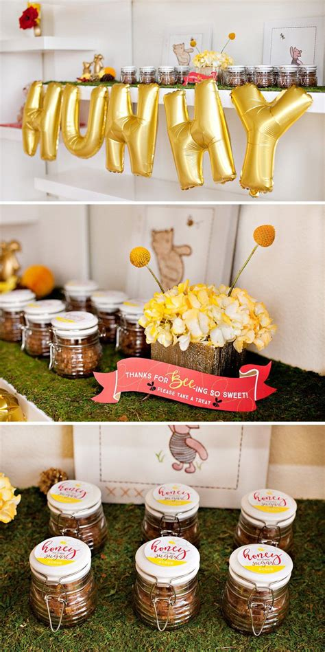 party themes classic classic modern winnie the pooh baby shower modern