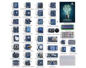37 modules sensor kit arduino v2 robotshop