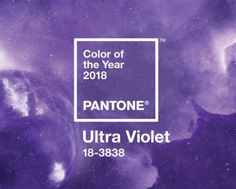 panton color of the year pantone color of the year 2018 ultra violet 18 3838