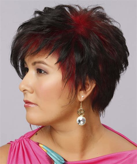 short hair with wispy back short wispy shag haircuts short hairstyle 2013