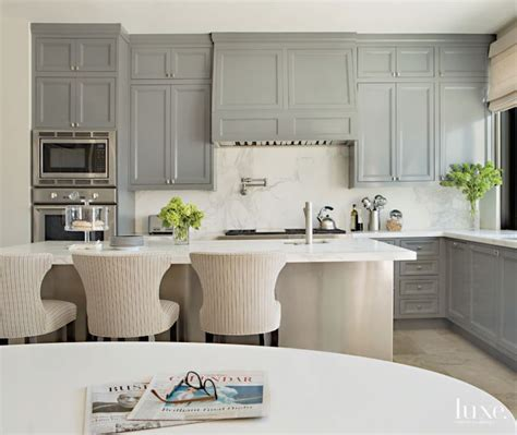 Gray Countertops With White Cabinets by Gray Kitchen Cabinets With White Countertops Quicua