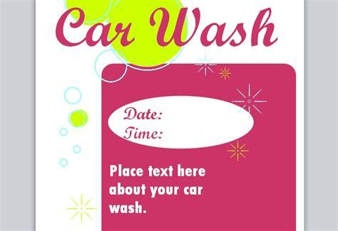 car wash flyer template car wash flyer template car wash template