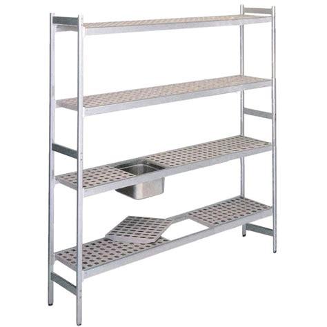 scaffali in alluminio scaffale in alluminio anodizzato elemento base mod rf