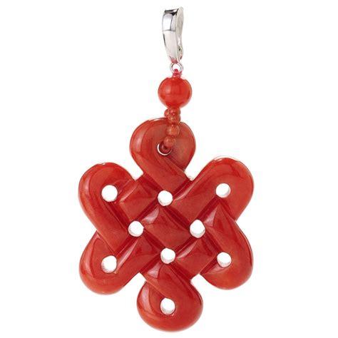 dyed jade infinity knot pendant jewelery