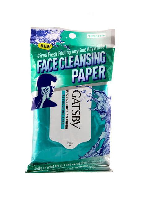 Gatsby Pembersih Muka Gatsby Cleansing Paper 10 S Refreshing Pck
