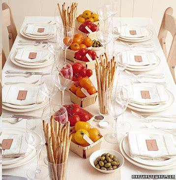 Party Frosting Italian Dinner Party Ideas And Inspiration Italian Table Decorations