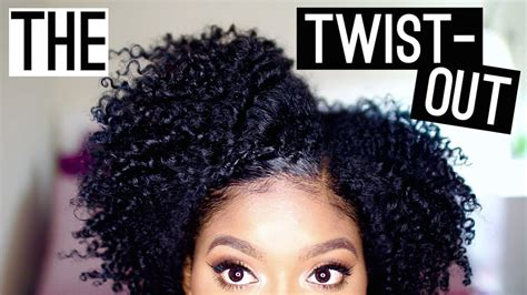 Tutorial Natural Hair Styles | natural hair twist out tutorial black hair information