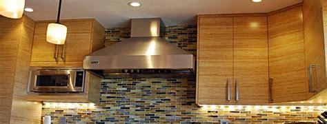 portfolio under cabinet lighting belmont bamboo bay area cabinetry