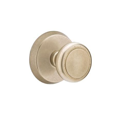 Emtek Door Knob by Emtek Sandcast Bronze Butte Door Knob Set Low Price Door