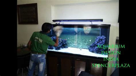 aquarium design youtube marine aquarium in chennai design by jabbar aquarium