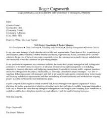 Cover Letter For Project Management by Cover Letter Project Manager Cover Letter Templates