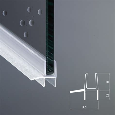 vetri box doccia gocciolatoio per box doccia per vetri di spessore da 6 mm