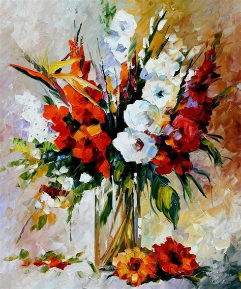 Paint A L by Leonid Afremov On Canvas Palette Knife Buy Original