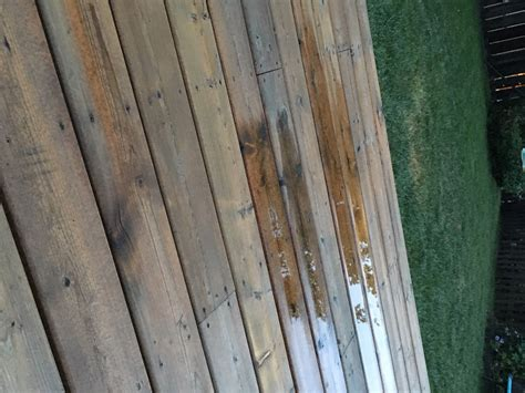 change  water based  oil based deck stains