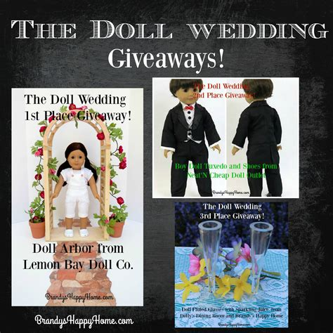 Wedding Giveaways by Doll Wedding Giveaways