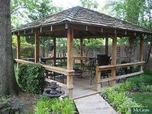 southfield home tiki hut backyards and railings