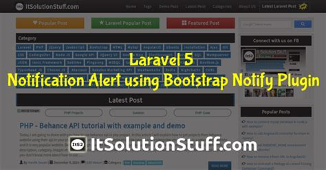 bootstrap notify tutorial bplist parser tag it solution stuff