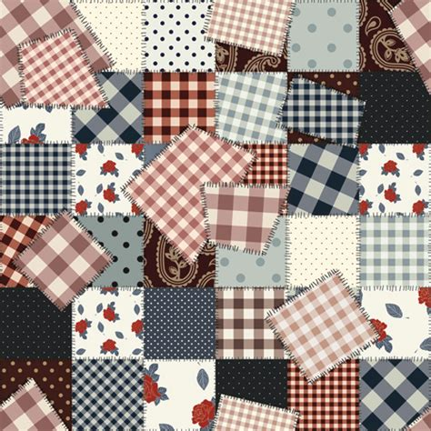 pattern definition textiles set of different fabric patterns vector 04 vector