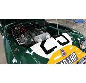 Triumph TR Day  10 TR3S Le Mans Engine And Cars