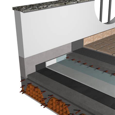 isolamento terrazza calpestabile ecofine aerogel impermeabilizzazione sopra massetto