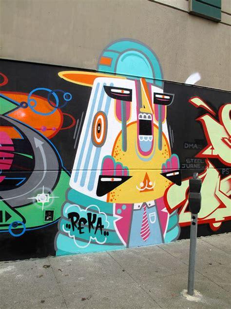 graffiti artist reka    fun ice cream color