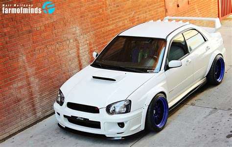 subaru impreza stance high contrast matt coconut farmofminds