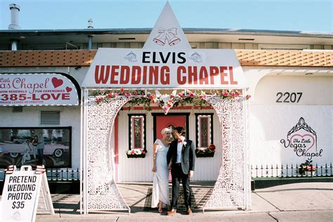 Elvis Wedding Chapel Vegas   Wedding Ideas