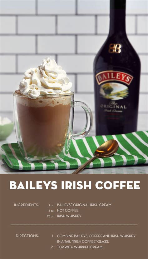 Baileys Coffee if you like coffee try the baileys twist on the classic