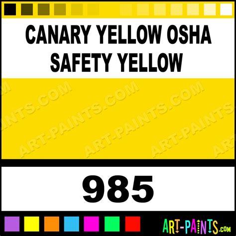 canary yellow osha safety yellow heavy duty auto spray paints 985 canary yellow osha safety