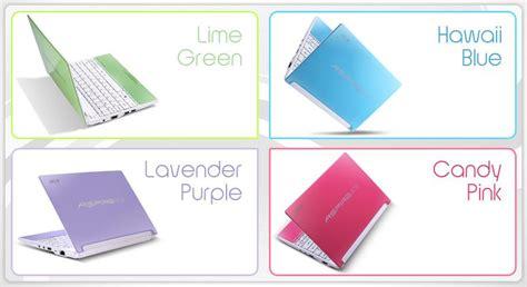 Laptop Acer Aspire One Warna Pink intanaryanti 187 archive 187 acer luncurkan netbook penuh warna