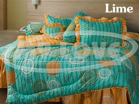 Harga Sprei Merk Rainbow rumah sprei bed cover bedcover king size 180x200