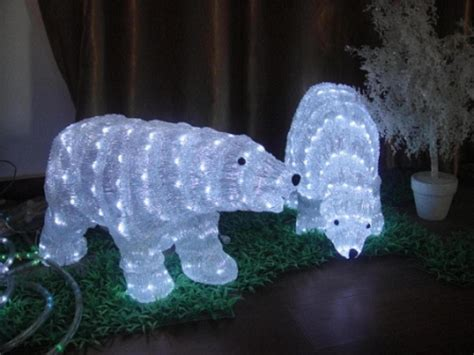 china polar bear sculpture lights china led christmas