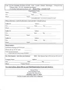 Registration Form Template by Application Form Event Registration Form Template Printable