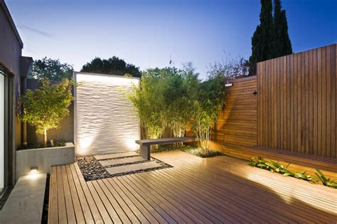Contemporary Landscape Lighting Deck Lighting Ideas That Bring Out The Of The Space