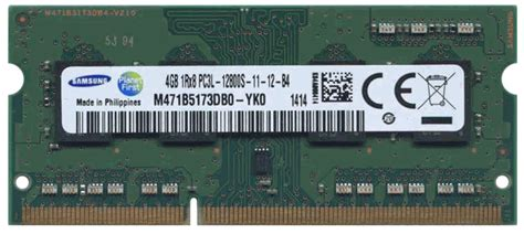 Vgen Sodim 1 Gb Pc 5300 6400 Ddr2 4gb pc3 12800 ddr3 1600 cl11 1rx8 1 35v 204 pin sdram
