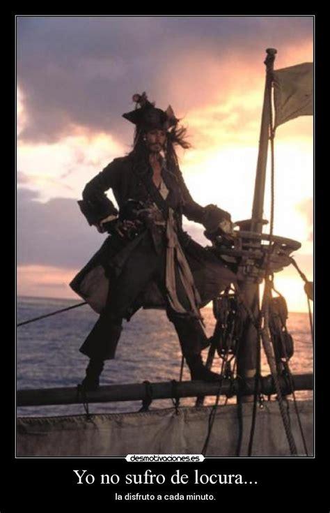 barco pirata jack sparrow yo no sufro de locura desmotivaciones