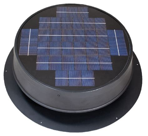 solar attic fan 36 watt natural light solar attic