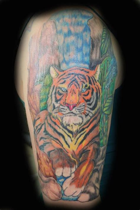 jungle tattoos tiger in the jungle picture at checkoutmyink