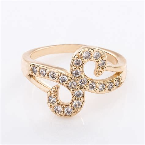 wedding rings new models fashion designs gold plated cz wedding rings for