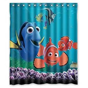 Nemo Bathroom Accessories Turtle And Fish Finding Nemo Special Printed Bathroom Shower Curtain Waterproof