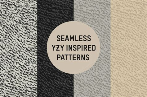yeezy pattern vector stock graphic seamless yzy inspired patterns