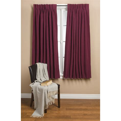 blackout curtains pinch pleat commonwealth home fashions hotel chic blackout curtains