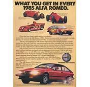 Alfa Romeo GTV6  Vintage Car Ads