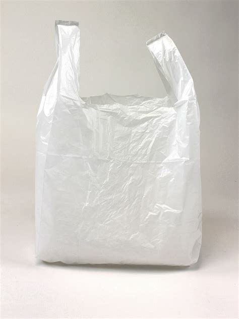 small carrier bag white vest carrier bags polythene shopping bag