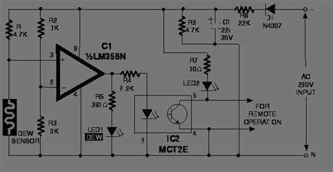 elektronika 25 skema rangkaian elektronika rangkaian pendeteksi sensor kelembaban udara koleksi