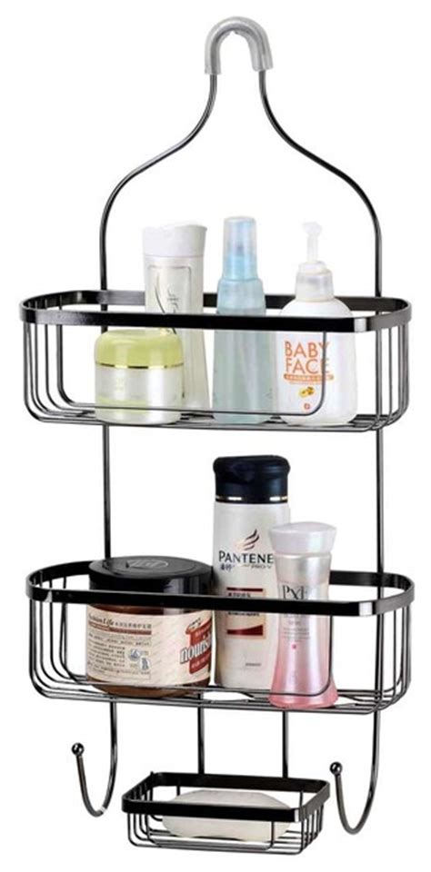 Hds Shower Caddy Black Wire Large View In Your Room Buy Bathroom Accessories Australia