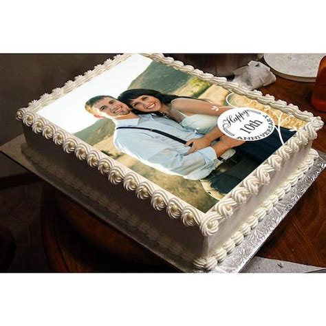 Wedding Anniversary Gifts Delivery In Kerala by Personalized Wedding Anniversary Cake