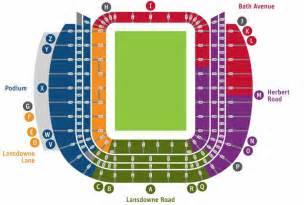 stadium seat map seating map